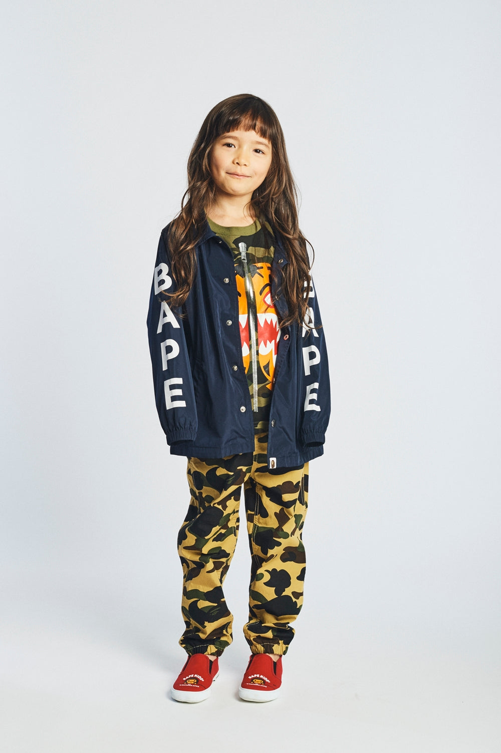 A BATHING APE 2018 SS KIDS' LOOKBOOK 9