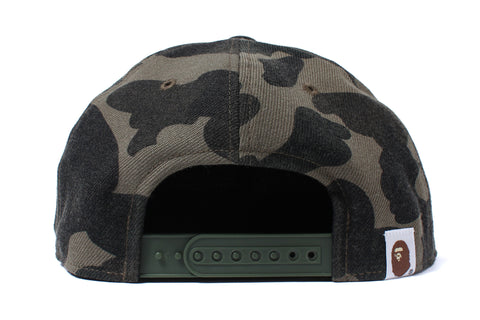 1ST CAMO FLANNEL SNAPBACK CAP