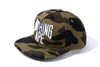 1ST CAMO NYC LOGO SNAP BACK CAP