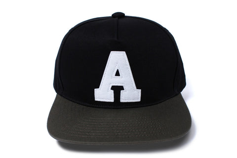 A LOGO SNAP BACK CAP