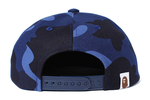 COLOR CAMO SNAP BACK CAP