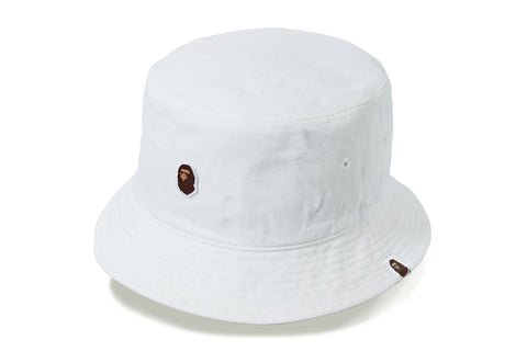 APE HEAD ONE POINT BUCKET HAT