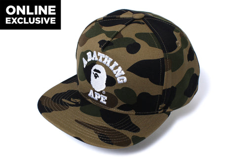1ST CAMO SNAP BACK CAP -ONLINE EXCLUSIVE-