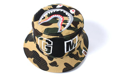 1ST CAMO SHARK BUCKET HAT