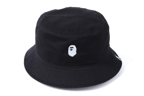 APE HEAD EMBROIDERY BUCKET HAT