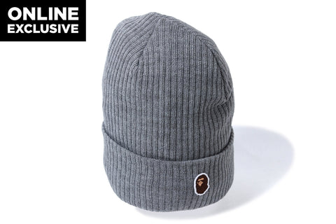 ONE POINT KNIT CAP -ONLINE EXCLUSIVE-
