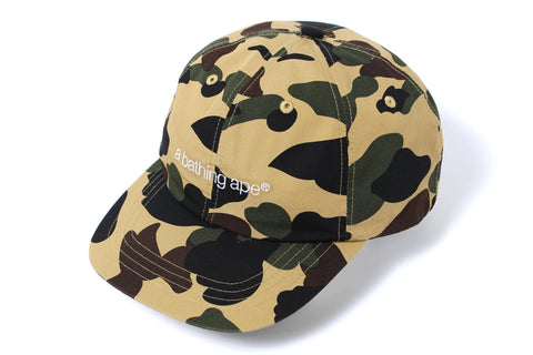 1ST CAMO EMBROIDERY PANEL CAP