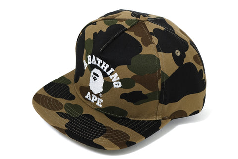 1ST CAMO COLLEGE SNAP BACK CAP