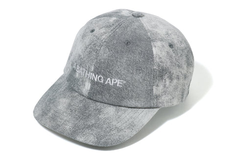 A BATHING APE DENIM PANEL CAP