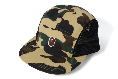 1ST CAMO APE HEAD ONE POINTESH JET CAP