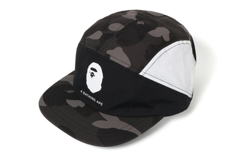 COLOR CAMO COLOR BLOCK RUNNING CAP