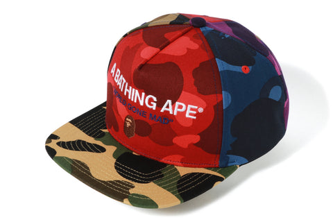 MIX CAMO CRAZY SNAP BACK CAP
