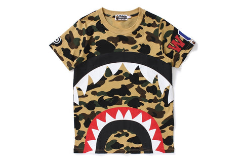 1ST CAMO BIG SHARK TEE (SHARK 8)