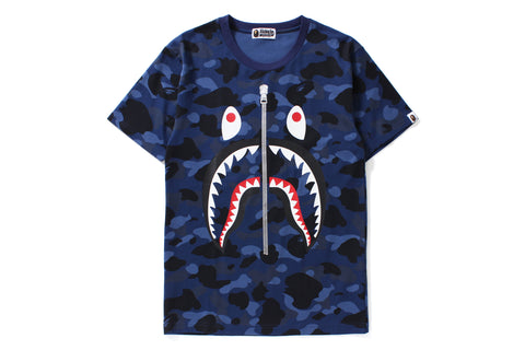 COLOR CAMO SHARK BIG TEE