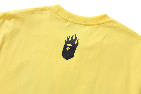 NEON COLOR BAPE FLAME TEE