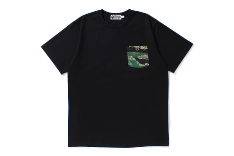 TIGER CAMO POCKET TEE