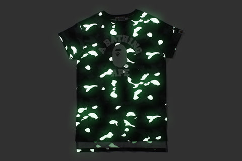 CITY CAMO COLLEGE LONG LENGTH TEE