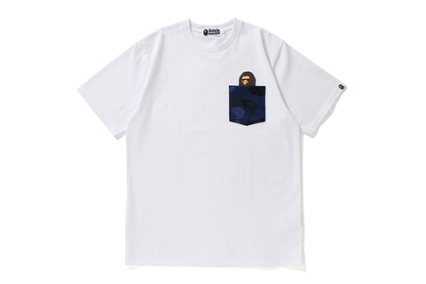 COLOR CAMO POCKET TEE