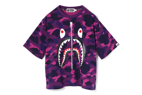 COLOR CAMO 2ND SHARK WIDE TEE