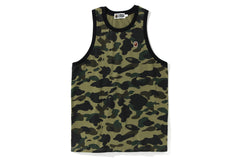 1ST CAMO ONE POINT TANK TOP