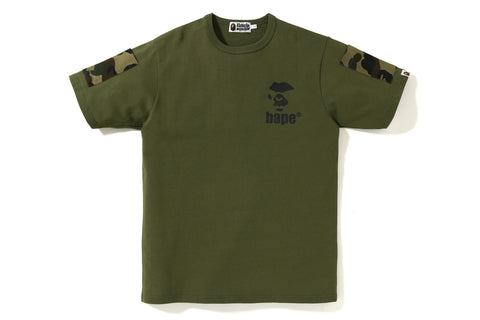 BAPE 1ST CAMO SLEEVE POCKET TEE