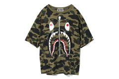 1ST CAMO GLITTER 2ND SHARK OVERSIZED TEE