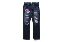 2008 TYPE-05 DAMAGED DENIM PANTS
