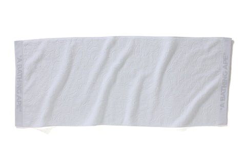 SOLID ABC JACQUARD TOWEL