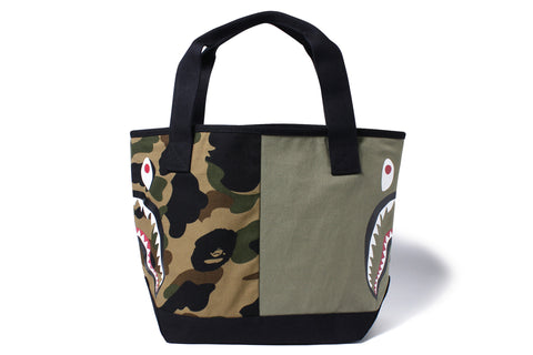 1ST CAMO SHARK TOTE BAG