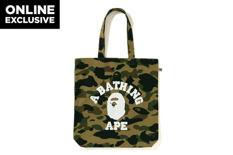 1ST CAMO COLLEGE TOTE BAG  [ONLINE EXCLUSIVE]