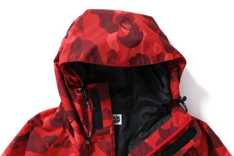 COLOR CAMO SNOWBOARD JACKET