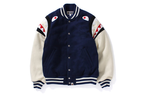 SHARK SHOULDER VARSITY JACKET