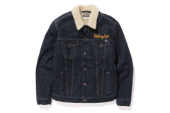 DENIM BOA JACKET