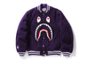 SHARK MELTON VARSITY JACKET