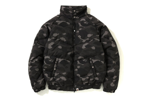 COLOR CAMO DOWN JACKET