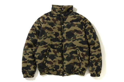1ST CAMO DOWN JACKET
