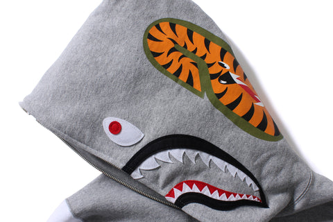 SHARK SWEAT VARSITY FULL ZIP HOODIE