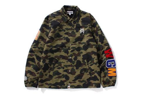 1ST CAMO SHARK COACH JACKET