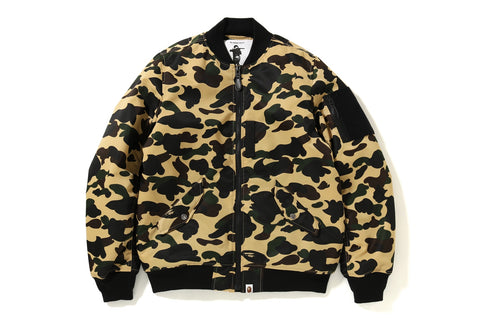1ST CAMO LIGHT BOMBER JACKET
