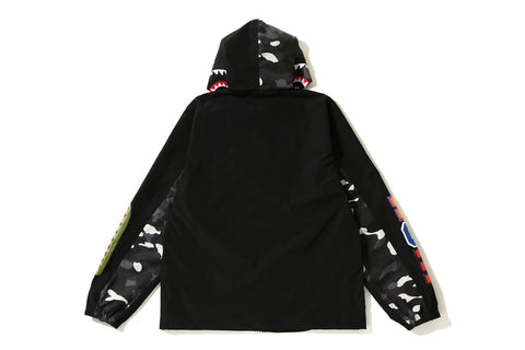 CITY CAMO SHARK HOODIE JACKET