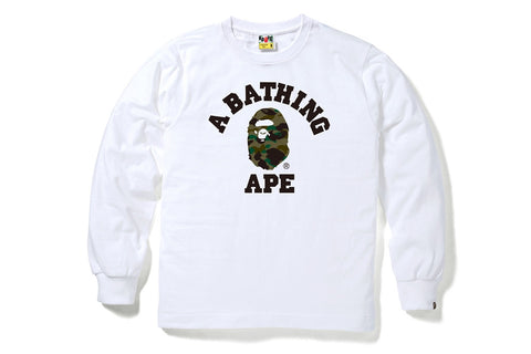 1ST CAMO COLLEGE LONG SLEEVE TEE