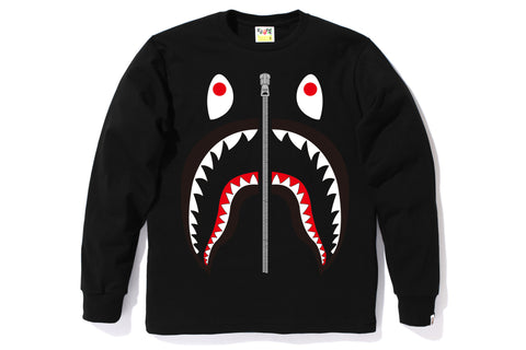 SHARK LONG LENGTH L/S TEE