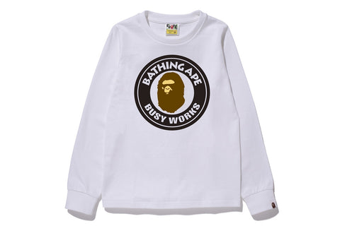 BUSY WORKS LONG SLEEVE TEE