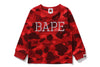 COLOR CAMO BAPE L/S TEE