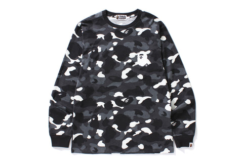 CITY CAMO APE HEAD L/S TEE