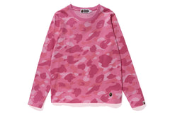 COLOR CAMO LONG SLEEVE TEE