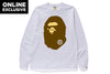 APE HEAD LONG SLEEVE TEE [ONLINE EXCLUSIVE]