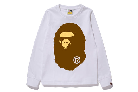 BIG APE HEAD L/S TEE