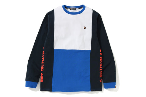 COLOR BLOCK L/S TEE