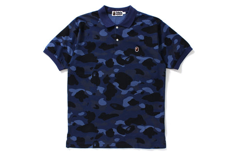 COLOR CAMO APE HEAD ONE POINT POLO